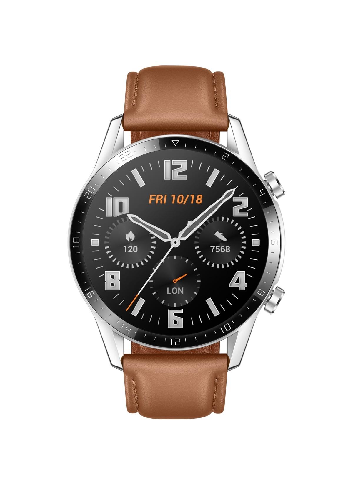 Standart Huawei Watch Gt2 46Mm Classic Akilli Saat - Kahverengi